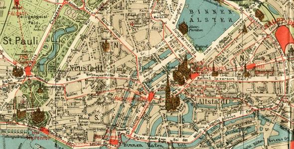 Historische Stadtpläne kaufen