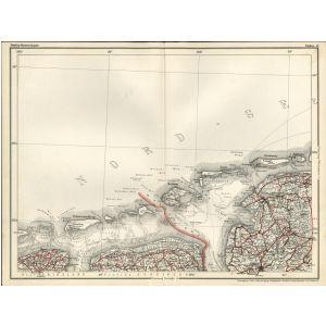 Emden Karte.Dunlop Strassen Karte 19 Emden 1927 1928 Landkartenshop De