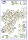 Postleitzahlenkarte Postleitzone 3 (DIN-A3)
