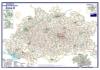 Postleitzahlenkarte Postleitzone 8 (DIN-A3)