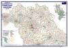 Postleitzahlenkarte Bayern Nord (DIN-A3)