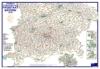 Postleitzahlenkarte Bayern Süd (DIN-A3)