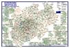 Postleitzahlenkarte Nordrhein-Westfalen (DIN-A3)
