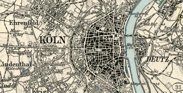 Karte des Deutschen Reichs 1:100.000 kaufen