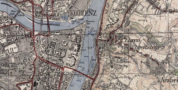 Meßtischblätter 1:25.000 (1868-1951)
