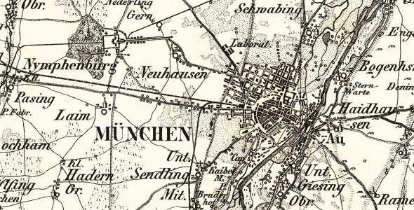 Reymann´s Special Karte 1:200.000 (1806-1908)